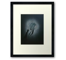 G is for... Giraffe Framed Print