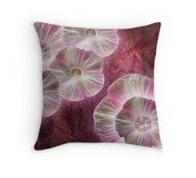 Fractaluminescent Throw Pillow