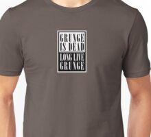 Grunge Is Dead, Long Live Grunge (flat) Unisex T-Shirt