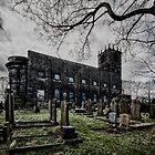 St Peters spooky Sowerby West Yorkshire England by Glen Allen