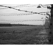 Auschwitz Birkenau Photographic Print