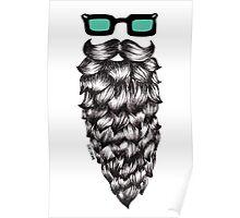 Casual Beard Poster