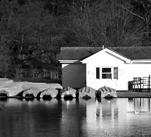 Bouthouse Black and White by Amy Lloyd