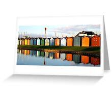 Beach Hut Paradise Greeting Card