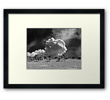 Valley cloud Framed Print