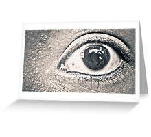 The Eye Greeting Card