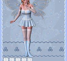 blue fairy  by cynthiab