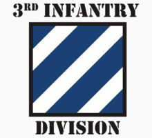 3rd Infantry Division W/Text by VeteranGraphics