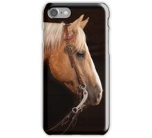 Palomino Quarter Horse at DSR Ranch iPhone Case/Skin