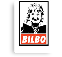 Hobbit - Bilbo Canvas Print