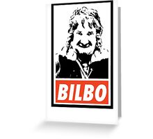 Hobbit - Bilbo Greeting Card