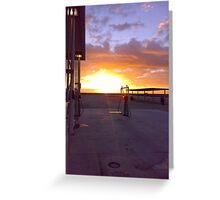 Sunrise, Nullarbor Roadhouse Greeting Card
