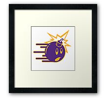 The Hundreds Purple Framed Print