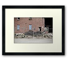 The Beautiful Ugly. Framed Print