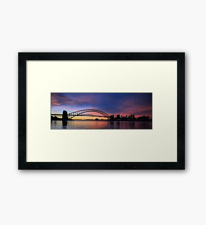 Lipstick Sky - Moods Of A City - The HDR Series Framed Print