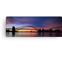 Lipstick Sky - Moods Of A City - The HDR Series Canvas Print