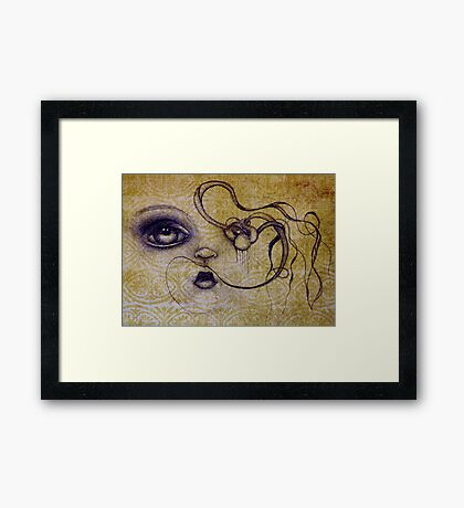 Original Art by ANGIECLEMENTINE Framed Print
