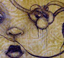Original Art by ANGIECLEMENTINE Sticker