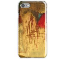 landscape with red stack iPhone Case/Skin