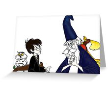 Harry Potter and the Sword in the Stone Greeting Card