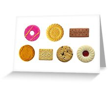 Biscuit Selection Greeting Card