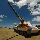 Military Tank @ Sculptures By The Sea 2010 by muz2142