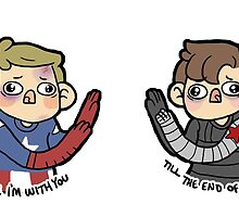 """""""Till the End of the Line"""" Sticker set by geothebio"""