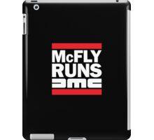 McFly Runs DMC iPad Case/Skin