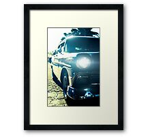 Cuba Old Car Framed Print