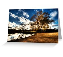 Lake Burley Griffin Greeting Card