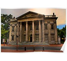 Historic Philadelphia - First Bank of the United States Poster