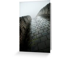 silent footsteps Greeting Card