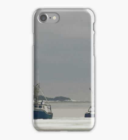 Waiting for the storm iPhone Case/Skin