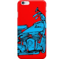 Indian Chief 1951 Classic Motorcycle iPhone Case/Skin