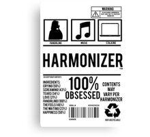 Harmonizer Logo Package! Canvas Print