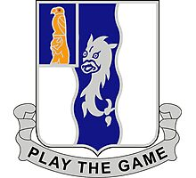 50th Infantry Regiment - Play The Game Photographic Print