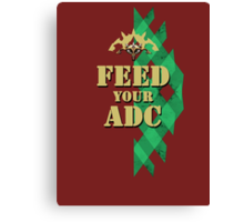 Feed your ADC - v.2 Canvas Print