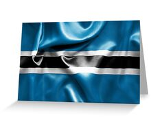 Botswana Flag Greeting Card