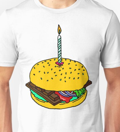 CHOCOLATE BURGER by RADIOBOY Unisex T-Shirt