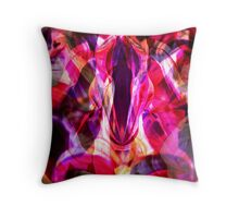Screams from Hell Throw Pillow