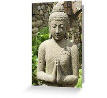 Buddha 'namaste' Greeting Card