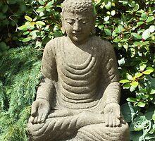 Buddha sitting by secretbutterfly