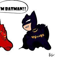 Batman Vs Superman  by Tevin Henley