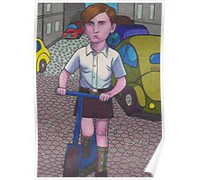 Scooter Boy Poster