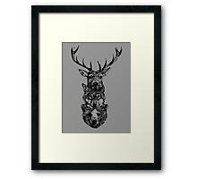 The hunt is on! Framed Print