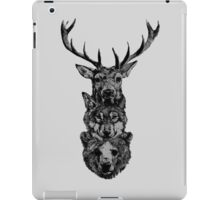 The hunt is on! iPad Case/Skin