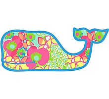 Lilly Pulitzer Whale Ice Cream Photographic Print