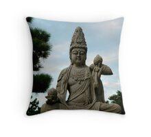 buddha IV Throw Pillow