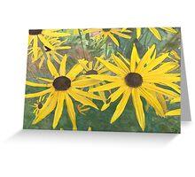Sunshine - mock watercolour Greeting Card