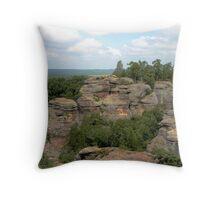 Camel Rock at Garden of the Gods Throw Pillow